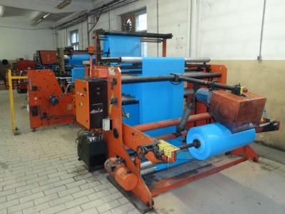 Coemter Ter Beta drawstring on the roll bagmaking machine B19024 1