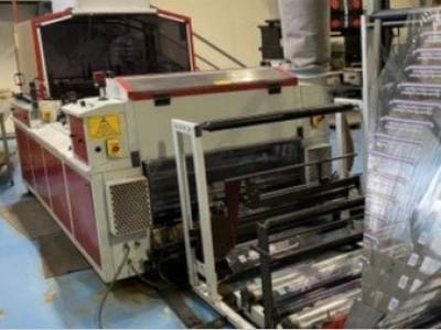 H&S 1063W wicket bagmaking machine B21006 1