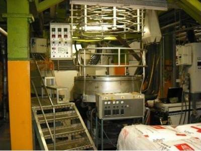 Battenfeld blown film extrusion line E16017 1
