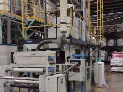 Acmack blown film extrusion line E21003 1
