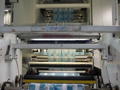 Soma Imperia gearless flexo printing press F18024 1