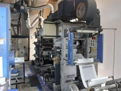 Bielloni stack flexo printing press F19010 1