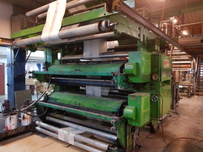 Manzoni Nesaflex inline stack printing press F19012 1