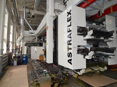 W&H Astraflex flexo printing press F19024 1