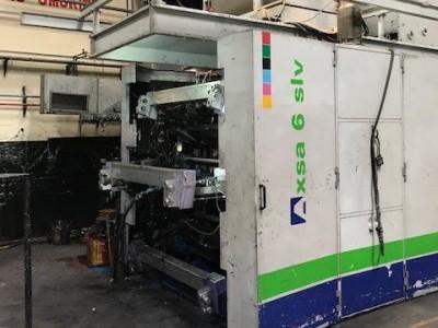 Bielloni Axsa flexo printing press F19026 1