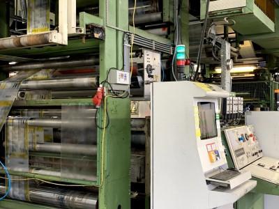 F&K 34DF flexo CI printing press F21003 1
