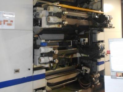 F&K 34DF flexo CI printing press F21008 1