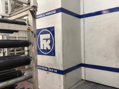 F&K 36S flexo gearless printing press F21018 1