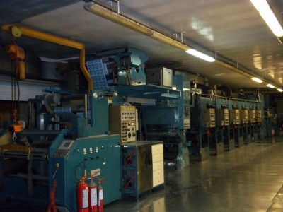 Holweg rotogravure printing press G18009 1