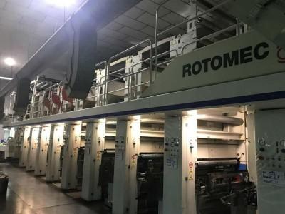 Rotomec rotogravure printing press G19003 1