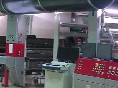 Cerutti R980 rotogravure printing press G21001 1