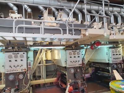 Cerutti 28R rotogravure printing press G21003 1