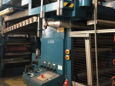 Kroenert Pak 600 wax coater L18012 1