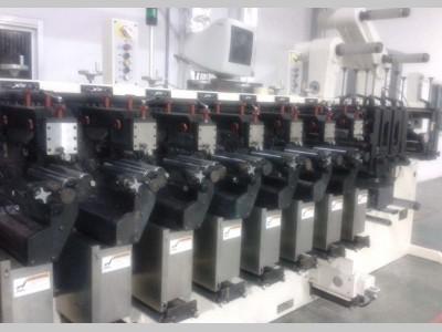 PCMA flexo narrow web label printing press N16002 1