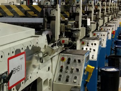 BHS UV flexo label press N18002 1