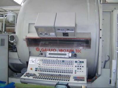 Galileo vacuum metallizer O19001 1