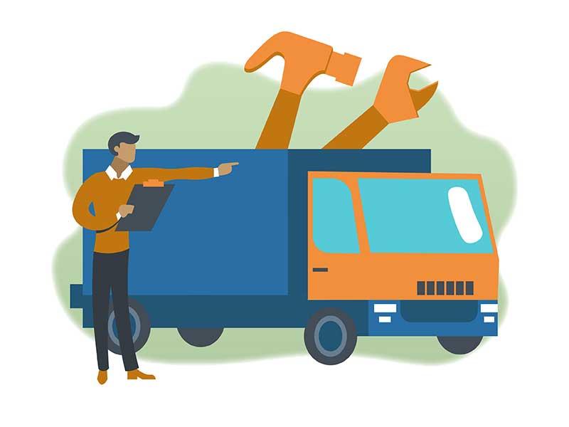 <p>拆卸、运输和组装</p>